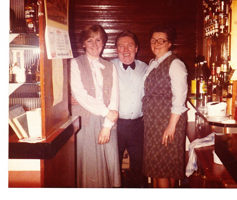 When Shirley and Glyn was Steward and Stewardess of the John Street.