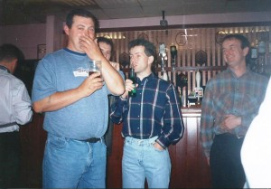barry, Pongo and Tony Morgan 1992