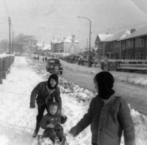 gelligaer_road_1963