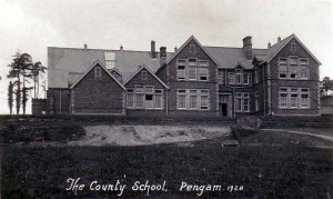 Monmouthshire, Pengam, County School